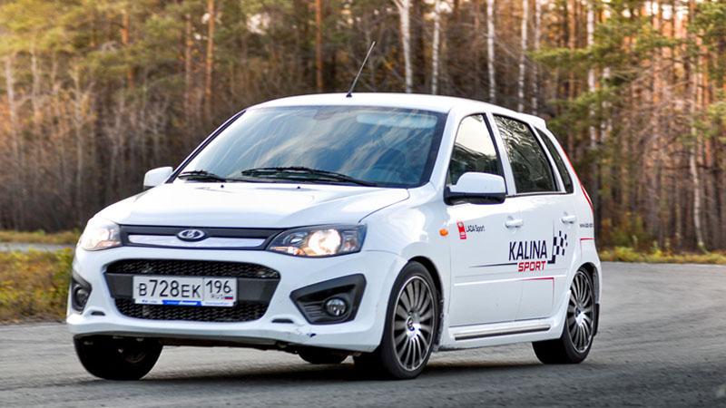 Lada Kalina Sport – в городе и на трассе