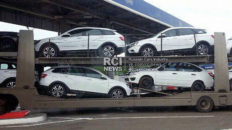 Lada Vesta SW Cross начали отгружать дилерам