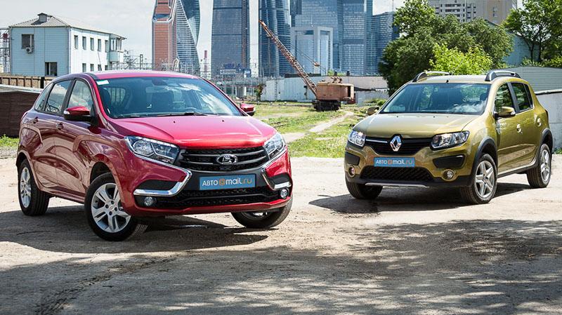 Lada XRAY и Renault Sandero Stepway - разные, но все же родственники